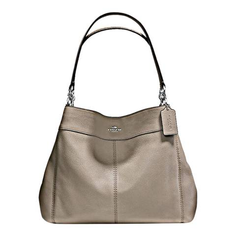 Coach Fog Leather Lexy Leather Bag