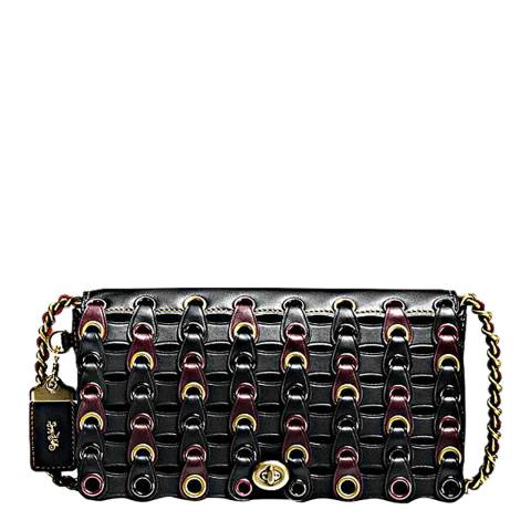 Coach Black Multi Link Dinky Crossbody