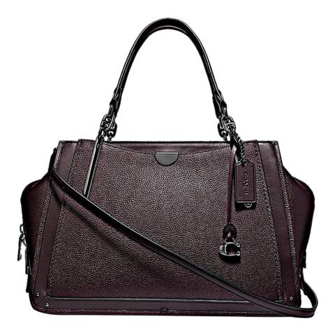Coach Oxblood Pebble Dreamer 36 Tote