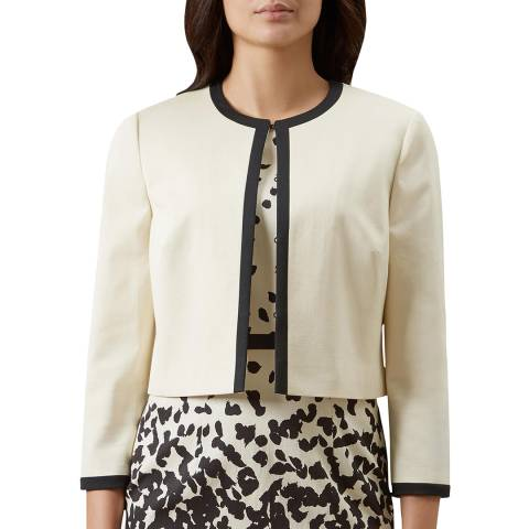 Hobbs London Ivory Arabella Jacket