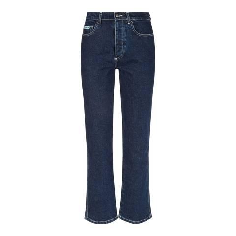 ALEXA CHUNG Indigo Cigarette Leg Cotton Stretch Jeans