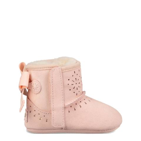 UGG Pink Jesse Bow II Sunshine Boots