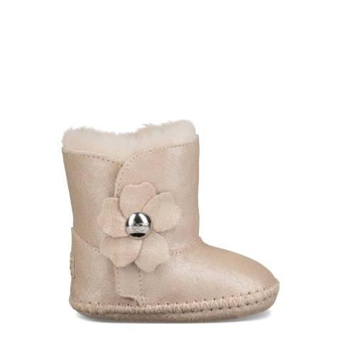 UGG Gold Cassie Poppy Metallic Boots
