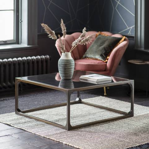 Gallery Roma Coffee Table, Bronze