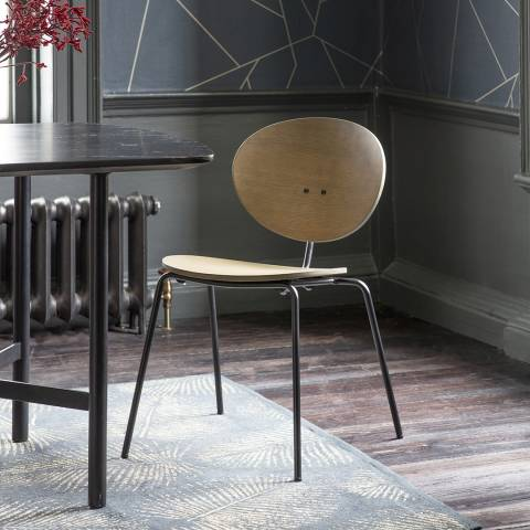 Gallery Set of 4 Sidcup Chairs, Grey