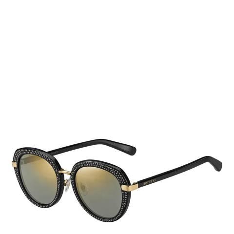 Jimmy Choo Women's Black Jimmy Choo Sunglasses 52mm