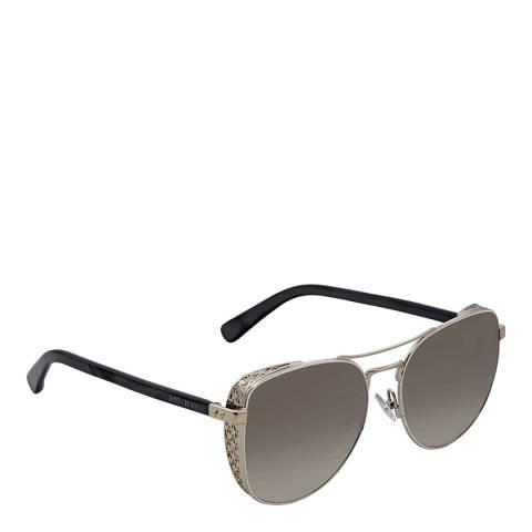 Jimmy Choo Women's Silver Jimmy Choo Sunglasses 58mm