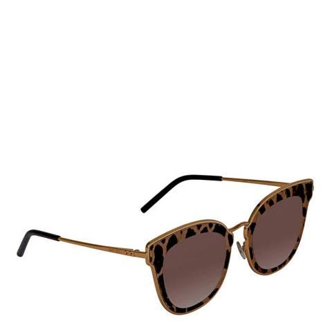 Jimmy Choo Women's Leopard Jimmy Choo Sunglasses 63mm