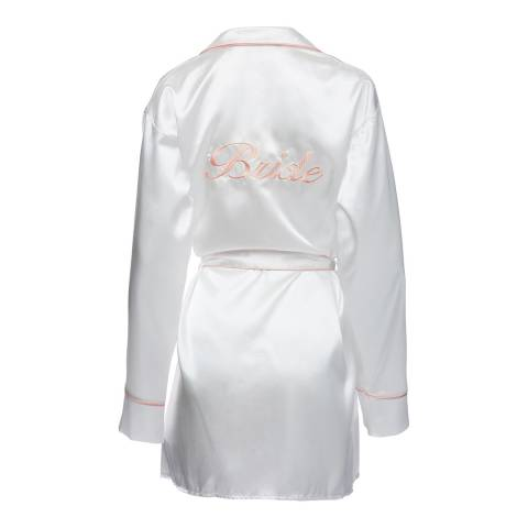 Night White Bride Robe