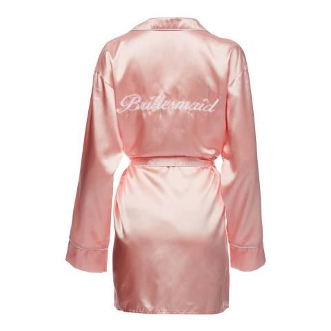 Night Pink Bridesmaid Robe