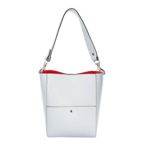 Giorgio Costa Pale Blue Leather Shoulder Bag