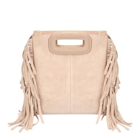 Giorgio Costa Blush Leather Top Handle Bag