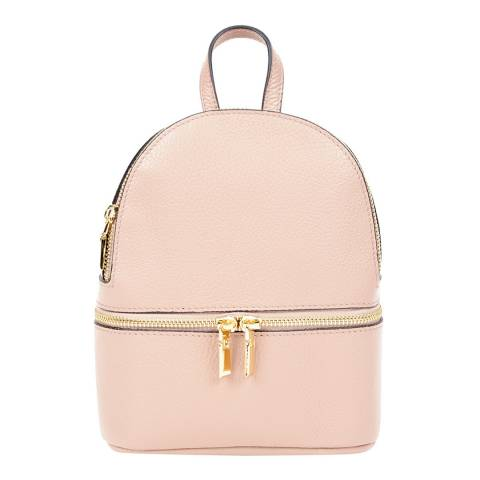 Giorgio Costa Blush Leather Backpack
