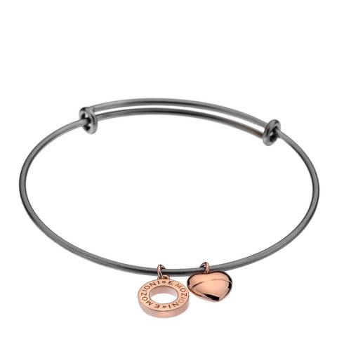 Emozioni Emozioni Rose Gold Plate Bangle