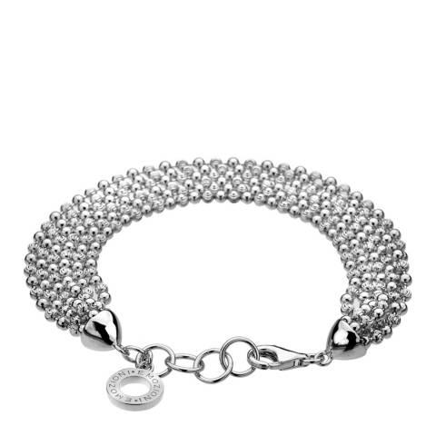 Emozioni Luxury Sterling Silver Bead Bracelet