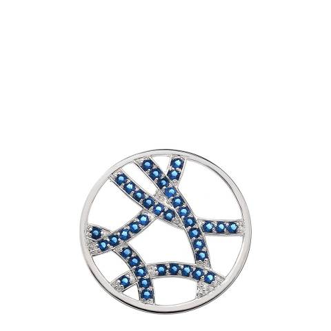Emozioni Azure Sparkle Arc Coin - 33mm