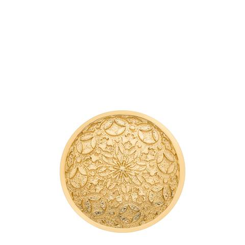 Emozioni Mystical Map Yellow Gold Coin - 33mm