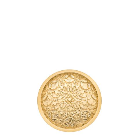 Emozioni Mystical Map Yellow Gold Coin - 25mm