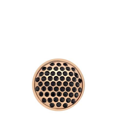 Emozioni Rose Gold Plate Alveare - 25mm
