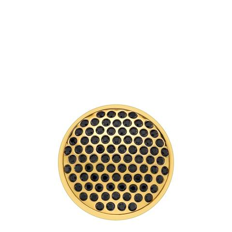 Emozioni Yellow Gold Plate Alveare - 33mm