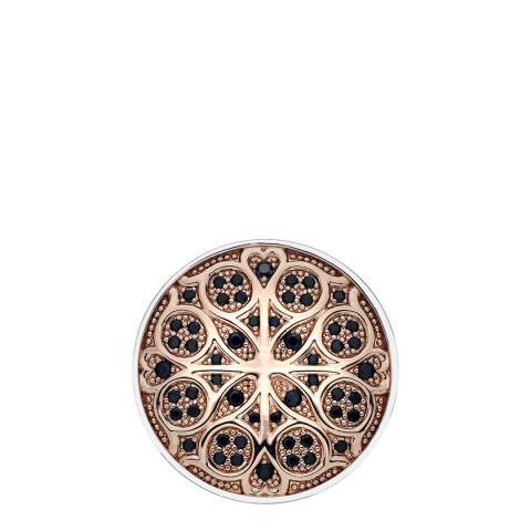 Emozioni Radici Rose Gold Plate Coin - 33mm