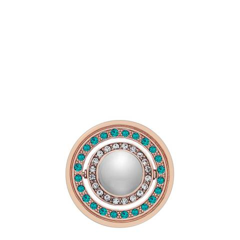 Emozioni Innocence and Healing Rose Gold Plated Coin - 25mm