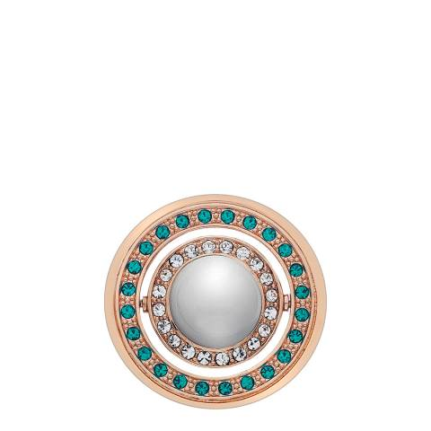 Emozioni Innocence and Healing Rose Gold Plated Coin - 33mm