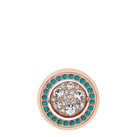 Emozioni Purity and Healing Rose Gold Plated Coin - 25mm
