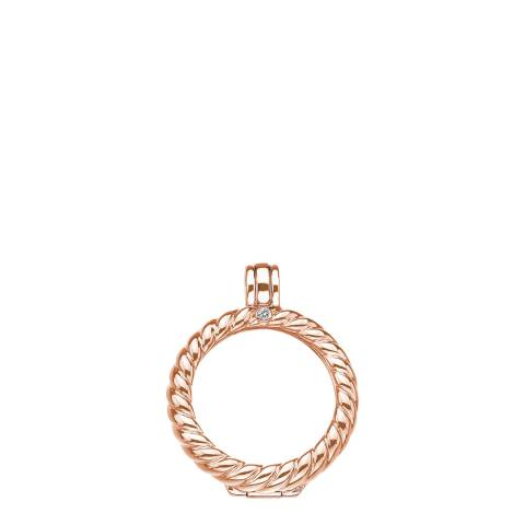 Emozioni Sorrento Rose Gold Plate Keeper 25mm