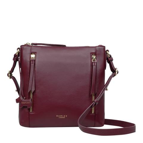Radley Burgundy Aldgate Medium Crossbody