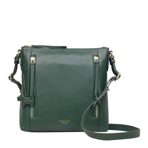 Radley Dark Green Aldgate Medium Crossbody
