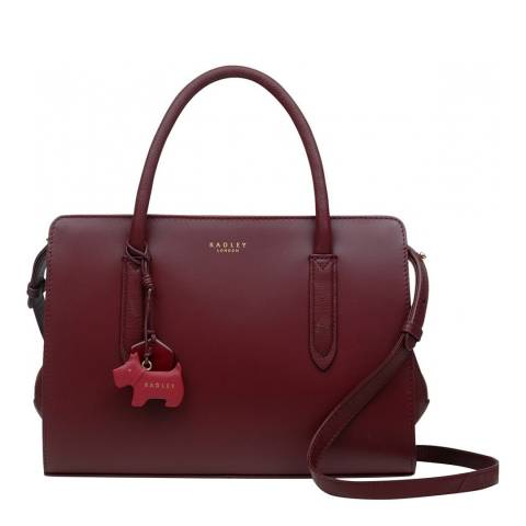 Radley Burgundy Liverpool Street Medium Multiway
