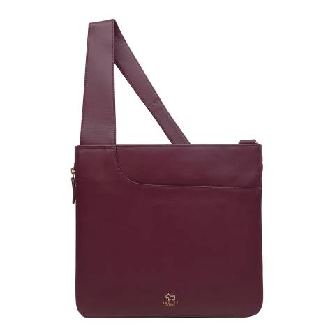 Radley Burgundy Pockets Large Crossbody