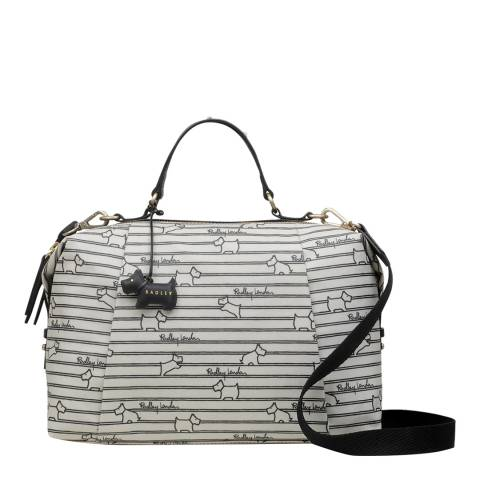 Radley Chalk Stripe Medium Multiway