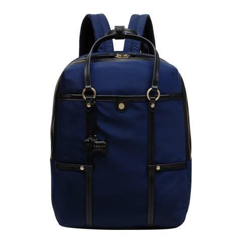 Radley Navy Tech Street Large Backpack
