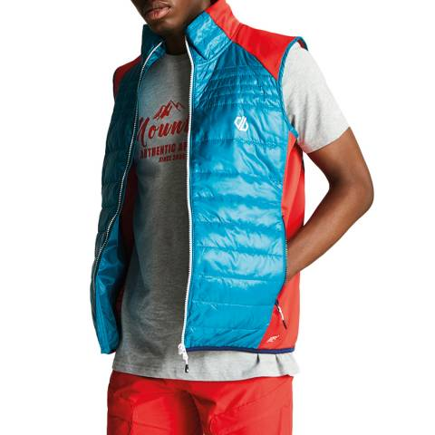 Dare2B Blue/Red Mountfusion Vest