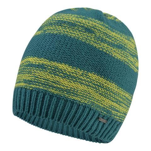 Dare2B Green/Yellow Thesis Beanie