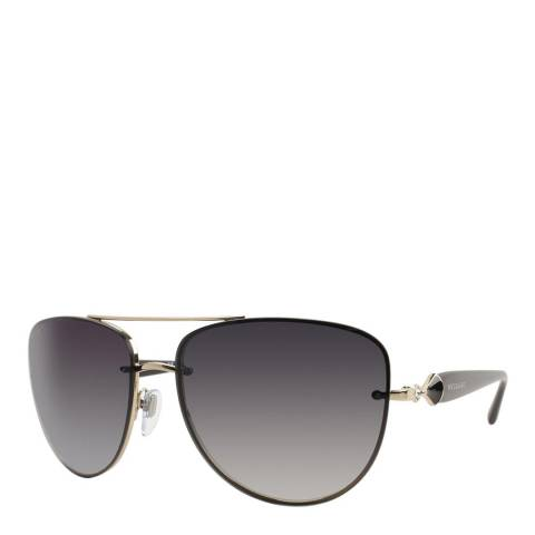 Bvlgari Unisex Grey Bvlgari Sunglasses 60mm
