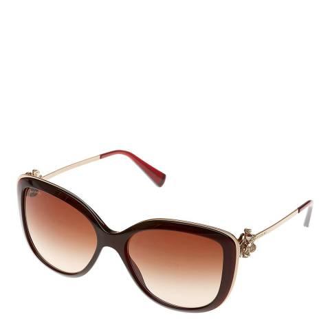 Bvlgari Women's Brown Bvlgari Sunglasses 57mm
