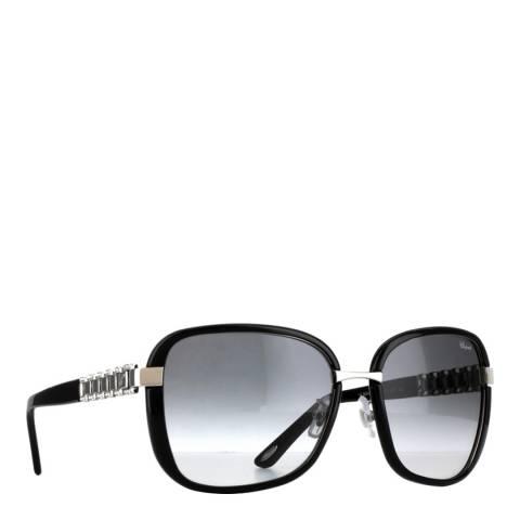 Chopard Women's Black Chopard Sunglasses 58mm