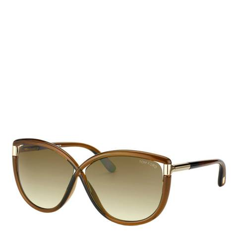 Tom Ford Women's Brown Tom Ford Sunglasses 63mm