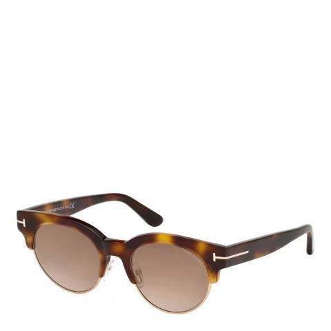 Tom Ford Women's Brown Tom Ford Sunglasses 52mm