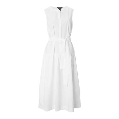 Baukjen White Cotton Rosetta Dress