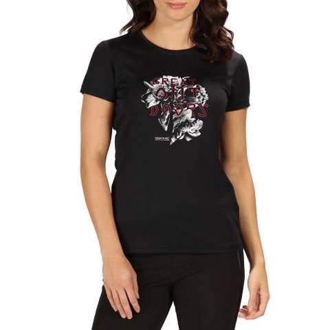 Regatta Black Fingal IV T-Shirt