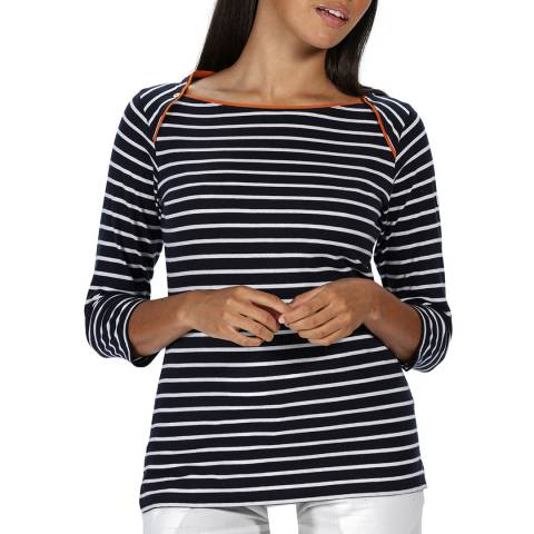 Regatta Navy Stripe Polina T-Shirt