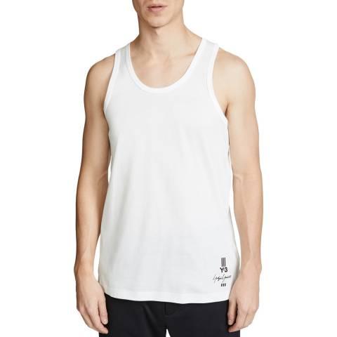 adidas Y-3 White Signature Logo Vest