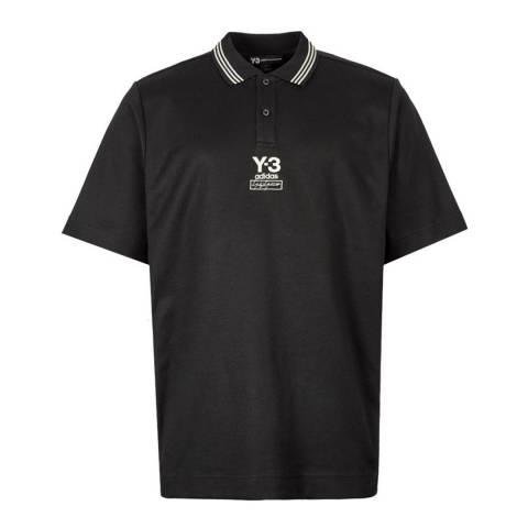adidas Y-3 Black Collegiate Polo
