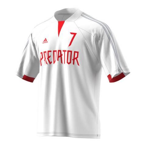 adidas Y-3 White Predator Jersey