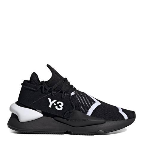 adidas Y-3 White & Black Kaiwa Knit Sneakers