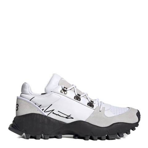 adidas Y-3 White & Black Kyoi Trail Sneakers